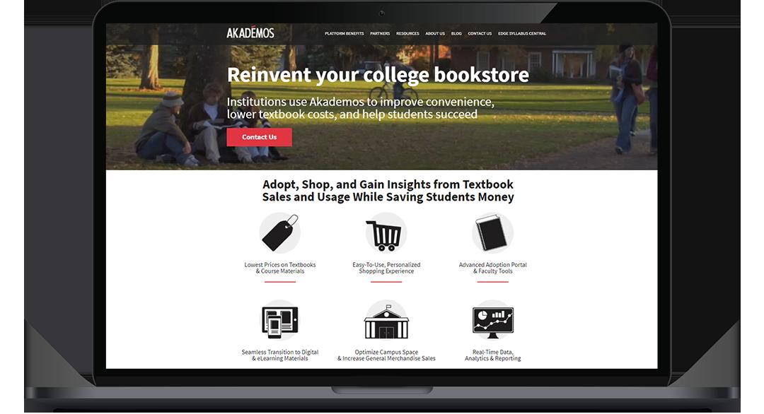 AKA Website on Laptop