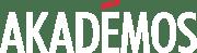Akademos-Logo_White on Black-1